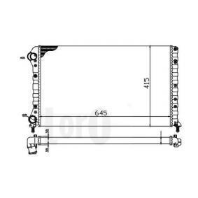Radiatore, Raffreddamento motore 017-017-0045 con un ottimo rapporto STARK qualità/prezzo