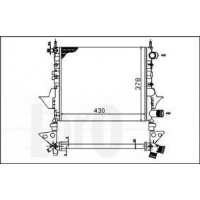 Radiatore, Raffreddamento motore STARK 042-017-0023 comprare e sostituisci