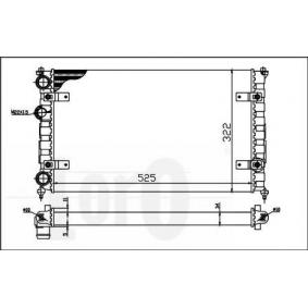 Radiatore, Raffreddamento motore 053-017-0051 comprare - 24/7!