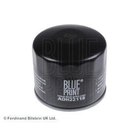 Filtro de óleo ADH22118 com uma excecional BLUE PRINT relação preço-desempenho