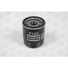 Filtro de óleo F134/606 com uma excecional CHAMPION relação preço-desempenho