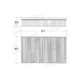 Filtro aria con numero produttore 4434867 per fiat ford for Filtro per cabina di fusione ford