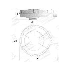 Luchtfilter W191/606 voor RENAULT RAPID Kasten met een korting — koop nu!