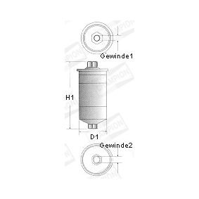 Fuel filter L203/606 for VOLVO 140 at a discount — buy now!