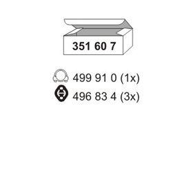 ostke ERNST Montaaæikomplekt, summuti 351607 mistahes ajal