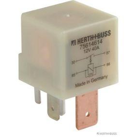 Compre e substitua Relé, bomba de combustível HERTH+BUSS ELPARTS 75614614