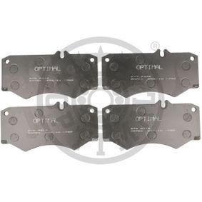 комплект спирачно феродо, дискови спирачки 9318 с добро OPTIMAL съотношение цена-качество