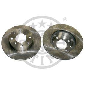 Disco de travão BS-0380 OPTIMAL Pagamento seguro — apenas peças novas