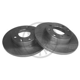Disco freno BS-0400 OPTIMAL Pagamento sicuro — Solo ricambi nuovi