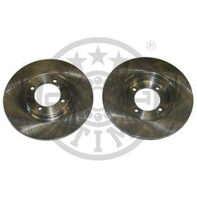 Disco de travão BS-6010 OPTIMAL Pagamento seguro — apenas peças novas