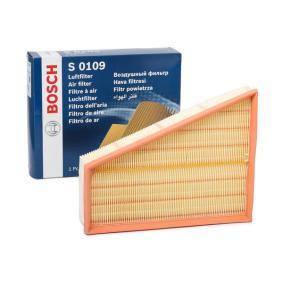 F026400109 Gaisa filtrs BOSCH Milzīga izvēle — ar milzīgām atlaidēm