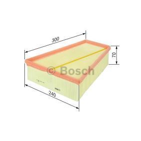 F 026 400 109 Gaisa filtrs BOSCH - Pieredze par atlaižu cenām