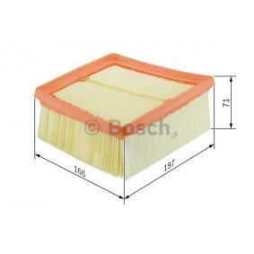 F 026 400 135 Air Filter BOSCH - Experience and discount prices