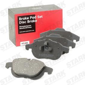 Compre e substitua Jogo de pastilhas para travão de disco STARK SKBP-0010043