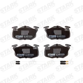 Jogo de pastilhas para travão de disco SKBP-0010072 com uma excecional STARK relação preço-desempenho