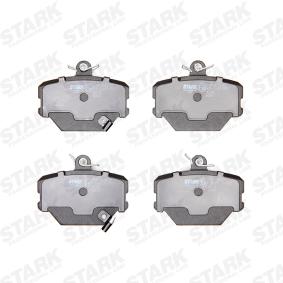 Brake Pad Set, disc brake STARK with acoustic wear warning, with brake  caliper screws — item: SKBP-0010073  Buy now!