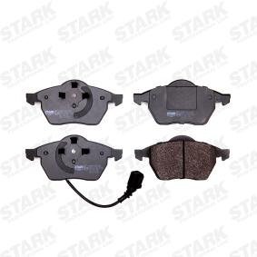 Bremsebelegg sett, skivebremse SKBP-0010105 til SEAT lave priser - Handle nå!