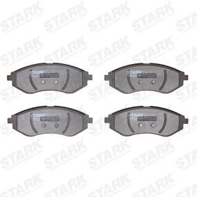 Compre e substitua Jogo de pastilhas para travão de disco STARK SKBP-0010229