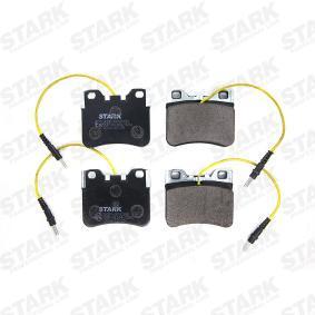 Jogo de pastilhas para travão de disco SKBP-0010390 com uma excecional STARK relação preço-desempenho