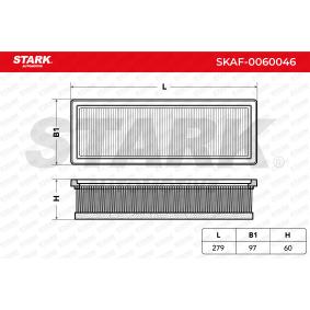 Filtro aria STARK SKAF-0060046 comprare e sostituisci