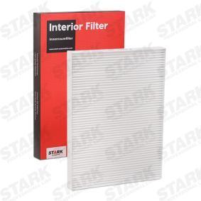 Filter, Innenraumluft SKIF-0170002 Robust und zuverlässige Qualität