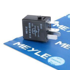 Αγοράστε MEYLE Ρελέ, αντλία καυσίμου 014 830 0006 οποιαδήποτε στιγμή