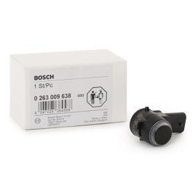 BOSCH Sensor, Einparkhilfe 0 263 009 638 rund um die Uhr online kaufen