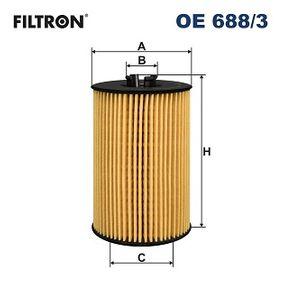 Filtre à huile OE688/3 à un rapport qualité-prix FILTRON exceptionnel