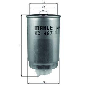 Kupte a vyměňte palivovy filtr MAHLE ORIGINAL KC 487