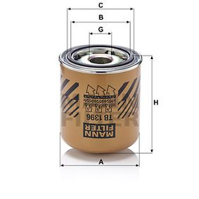 Compre MANN-FILTER Cartucho de secador de ar, sistema de ar comprimido TB 1396 x