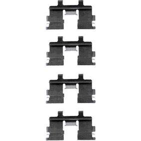 kit d 39 accessoires plaquette de frein disque pour nissan pick up d21 1985 pas ch res en. Black Bedroom Furniture Sets. Home Design Ideas