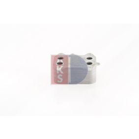 kupte si AKS DASIS Olejový chladič, motorový olej 046025N kdykoliv