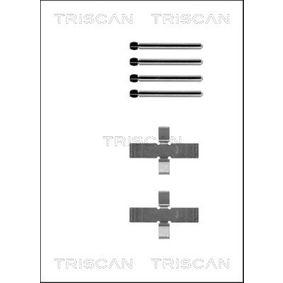 Kit accessori, Pastiglia freno TRISCAN 8105 101237 comprare e sostituisci