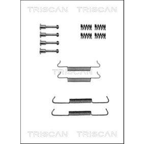 TRISCAN Kit accessori, Ganasce freno stazionamento 8105 102589 acquista online 24/7