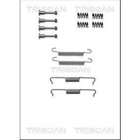 TRISCAN Kit accessori, Ganasce freno stazionamento 8105 102602 acquista online 24/7