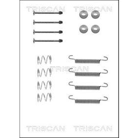 TRISCAN Kit accessori, Ganasce freno stazionamento 8105 242562 acquista online 24/7
