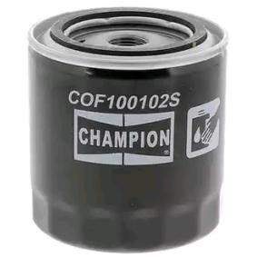 Kupte a vyměňte Olejový filtr CHAMPION COF100102S