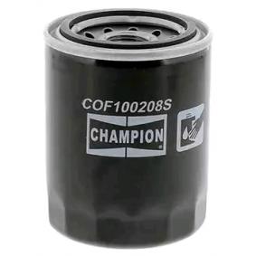 Filtro de óleo COF100208S com uma excecional CHAMPION relação preço-desempenho