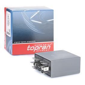 TOPRAN Relais, Wisch-Wasch-Intervall 113 601 Günstig mit Garantie kaufen