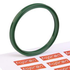 TOPRAN уплътнител, въздуховод турбина 115 071 купете онлайн денонощно