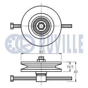 Asta/Puntone, Stabilizzatore 916014 con un ottimo rapporto RUVILLE qualità/prezzo