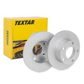 Disco freno 92057503 TEXTAR Pagamento sicuro — Solo ricambi nuovi