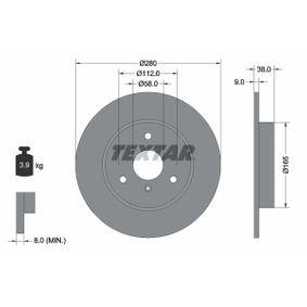 Achetez et remplacez Disque de frein 92097603