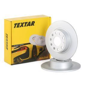 Disco de travão 92224903 com uma excecional TEXTAR relação preço-desempenho