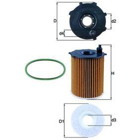 Filtre à huile OX 171/2D1 à un rapport qualité-prix KNECHT exceptionnel
