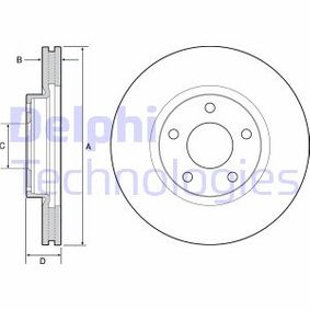 Disco de travão BG4562 para MAZDA CX-5 com um desconto - compre agora!