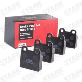 Brake Pad Set, disc brake SKBP-0011053 for VOLVO 66 at a discount — buy now!