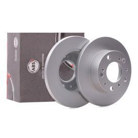 Disco freno 15045 con un ottimo rapporto A.B.S. qualità/prezzo