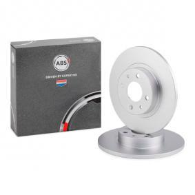 Disco freno 15858 con un ottimo rapporto A.B.S. qualità/prezzo