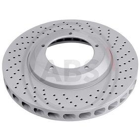 Pērc un aizvieto Bremžu diski A.B.S. 15924